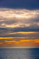 Sunset from the Hotel del Coronado, Coronado Island (San Diego), California USA.