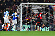 Goal - Terence Kongolo (5) of Huddersfield Town scores a goal to make the score 2-1 during the Premier League match between Bournemouth and Huddersfield Town at the Vitality Stadium, Bournemouth, England on 4 December 2018.