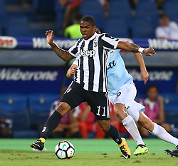 August 13, 2017 - Rome, Italy - Douglas Costa of Juventus  during the Italian Supercup match between Juventus and SS Lazio at Stadio Olimpico on August 13, 2017 in Rome, Italy. (Credit Image: © Matteo Ciambelli/NurPhoto via ZUMA Press)