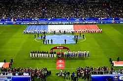 October 10, 2017 - St Denis, France, France - protocole - vue generale du stade de France (Credit Image: © Panoramic via ZUMA Press)