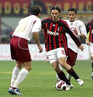 "Marek Jankulovski (Milan) Julio Cesar Leon (Reggina)<br />Italian ""Serie A"" 2006-2007<br />14 Jan 2007 (Match Day 19)<br />Milan-Reggina (3-1)<br />""Giuseppe Meazza"" Stadium-Milano-Italy<br />Photographer:Jennifer Lorenzini INSIDE"