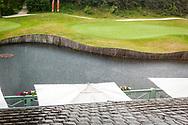 28-05-2016 Foto's van de kruisfinales in de hoofdklasse van de NGF Competitie 2016.<br /> Foto: Regen. Genomen tijdens Finaleweekend NGF Hoofdklasse 2016 bij Goyer Golf & Country Club in Eemnes, Nederland.