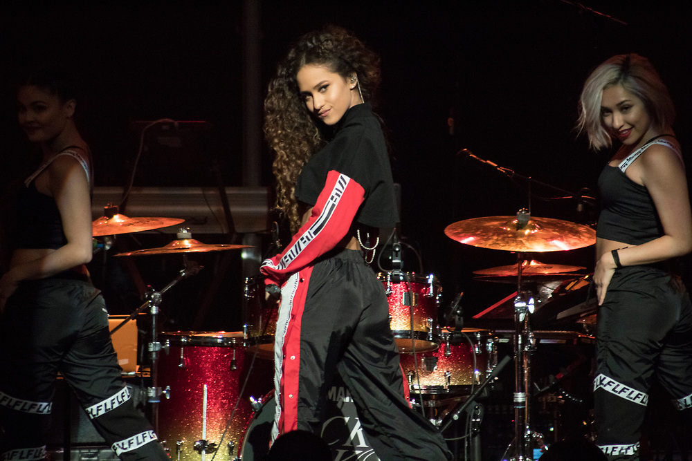 Skylar Stecker performs at the Riverside Theater in Milwaukee, WI on April 21, 2018.