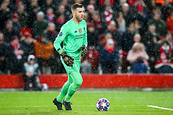 Adrian of Liverpool - Mandatory by-line: Robbie Stephenson/JMP - 11/03/2020 - FOOTBALL - Anfield - Liverpool, England - Liverpool v Atletico Madrid - UEFA Champions League Round of 16, 2nd Leg