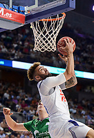 Real Madrid's Jeffery Taylor during semi finals of playoff Liga Endesa match between Real Madrid and Unicaja Malaga at Wizink Center in Madrid, June 02, 2017. Spain.<br /> (ALTERPHOTOS/BorjaB.Hojas)
