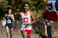 New York, New York  - College runners compete in the Ivy League cross country championship meet at Van Cortlandt Park in the Bronx on Oct. 26, 2017.