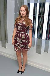 TANYA BURR at the Louis Vuitton Series 3 VIP Launch held at 180 Strand, London on 20th September 2015.