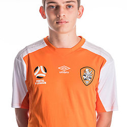 BRISBANE, AUSTRALIA - NOVEMBER 10:  Emlyn Wellsmore of the Roar poses for a photo during the Brisbane Roar Youth headshot session at QUT Kelvin Grove on November 10, 2017 in Brisbane, Australia. (Photo by Patrick Kearney / Brisbane Roar)
