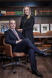 Michel Zavagna Gralha e Carolina Perroni Sanvicente da Zavagna Gralha Advogados. Foto: Jefferson Bernardes/ Agência Preview