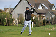 John Dignam (Brittas) on the 4th tee during the PGA Winter Series Southern Branch in Rush Golf Club on Friday 20th March 2015.<br /> Picture:  Thos Caffrey / www.golffile.ie