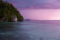 Sunset, Togean Islands, Sulawesi, Indonesia