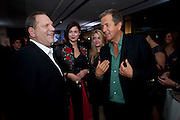 HARVEY WEINSTEIN;JASMINE GUINNESS; MARIO TESTINO;, Afterparty for Burberry  Spring/Summer 2010 Show. Horseferry House. Horseferry Rd. London sW1.  London Fashion Week.  22 September 2009.