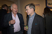MICHAEL COCKERELL, The launch of The City of Westminster: A Celebration of People,  published by Quartet in collaboration with the Sir Simon Milton Foundation. Hosted by Robert Davis MBE and Naim Attallah CBE, Halcyon Gallery. London. 20 March 2017.