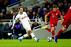 Christian Eriksen of Tottenham Hotspur - Rogan/JMP - 01/10/2019 - FOOTBALL - Tottenham Hotspur Stadium - London, England - Tottenham Hotspur v Bayern Munich - UEFA Champions League Group B.