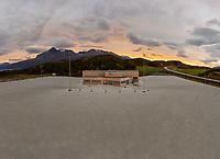 Statens vegvesen åpnet i 2021 kontrollstasjon på Stormyra langs E6 utenfor Narvik i Nordland.