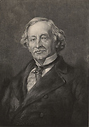 Charles Upham Shepard (1804-1886), American mineralogist and specialist in meteorites, born in Little Compton, Rhode Island. Compton lectured at Yale (1827-1844) and at Amherst College (1844-1877). Engraving, 1896.