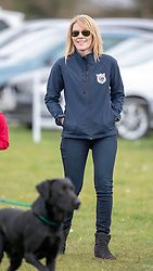 Autumn Phillips at the Land Rover Gatcombe Horse Trials on the estate of the Princess Royal.