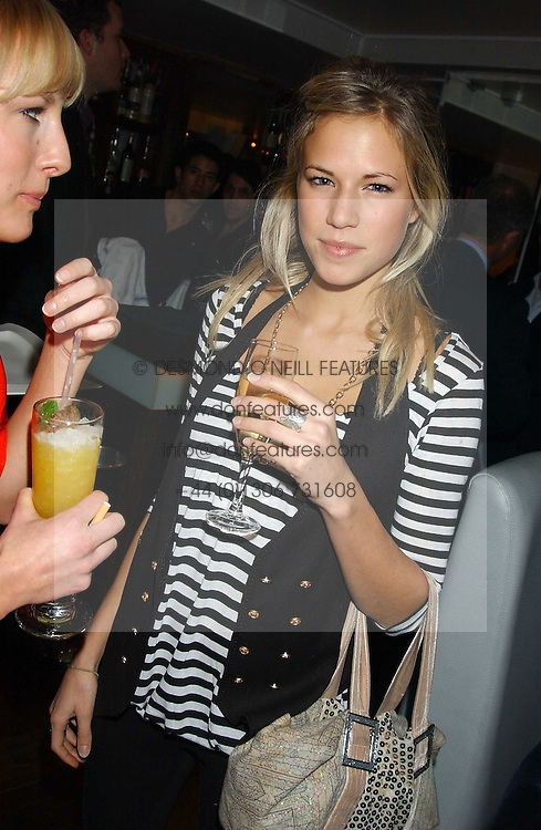 ALICE RUGGE PRICE at the launch of a new bar Bardo, 101-105 Walton Street, London SW3 on 29th November 2005.<br /><br />NON EXCLUSIVE - WORLD RIGHTS