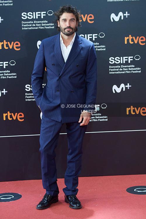 Alex Garcia attended 'Antidisturbios' Red Carpet during 68th San Sebastian International Film Festival at Kursaal Palace on September 25, 2020 in Donostia / San Sebastian, Spain