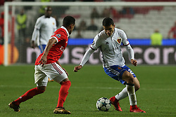 December 5, 2017 - Lisbon, Lisbon, Portugal - Fc Basel forward Moha Elyounoussi from Norway during the match between SL Benfica v FC Basel UEFA Champions League playoff match at Luz Stadium on December 5, 2017 in Lisbon, Portugal. (Credit Image: © Dpi/NurPhoto via ZUMA Press)