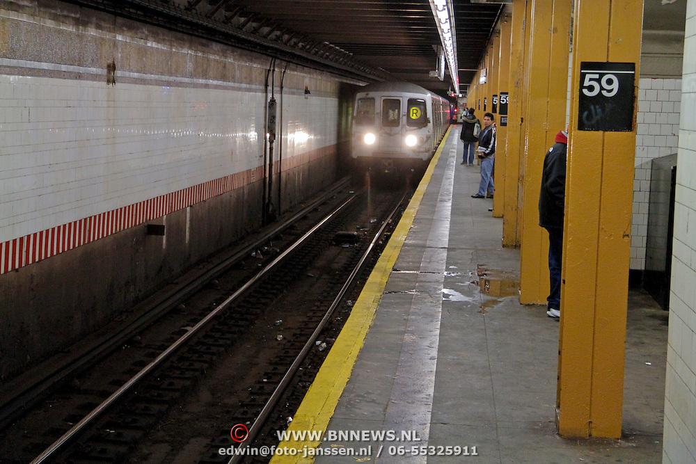 USA/New Yok/20120301 - New York, subway