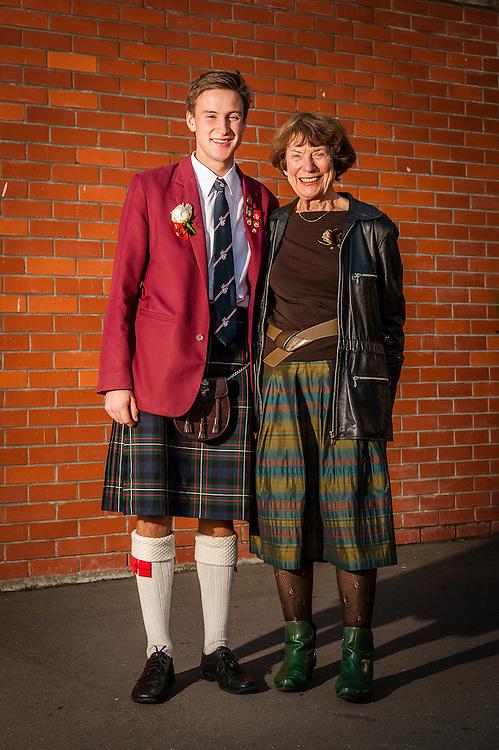 WELLINGTON, NEW ZEALAND - May 29: MS/SS Grandparents Day May 29, 2015 in Wellington, New Zealand.  Scots College MS/SS Grandparents Day.  (Photo by Mark Tantrum/ mark tantrum.com)