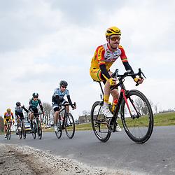 07-03-2020: Wielrennen: Ronde van Groningen: Usquert <br />Hqrthijs de Vries
