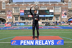 April 28, 2018 - Philadelphia, Pennsylvania, U.S - LISSA LABICHE (4) of the University of South Carolina winner of the CW high jump championship at the 124th running of the Penn Relays in Philadelphia Pennsylvania (Credit Image: © Ricky Fitchett via ZUMA Wire)