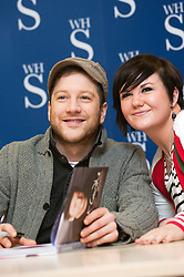"""X Faxtor 2010 Winner Matt Cardle signs copies of his book """"Matt Cardle My Story"""" at WH Smith branch in Meadowhall Shopping Centre Sheffield Lunchtime on Wednesday 2 March 2011.Images © Paul David Drabble"""