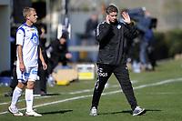 Fotball , 31. januar 2011 , Copa del Sol<br /> Tromsø - Tromsø<br /> <br /> Ole Gunnar Solskjær , trener Molde ogEmil Johansson , Molde