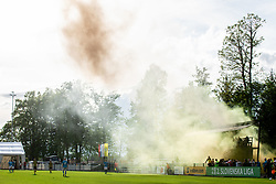 Supporters of Radomlje during football match between NK Kalcer Radomlje and NK Brezice Terme Catez in 20th Round of 2. SNL 2020/21, on May 15, 2021 in Sports park Radomlje, Slovenia. Photo by Vid Ponikvar / Sportida