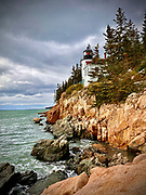 Bass Harbor Light Station, Acadia National Park, Bar Harbor, Maine
