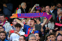 May 6, 2018 - Barcelona, Catalonia, Spain - FC Barcelona supporter during the match between FC Barcelona and Real Madrid CF, played at the Camp Nou Stadium on 06th May 2018 in Barcelona, Spain.  Photo: Joan Valls/Urbanandsport /NurPhoto. (Credit Image: © Joan Valls/NurPhoto via ZUMA Press)