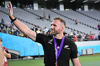 Rugby Union - 2019 Rugby World Cup - Bronze Final (Third Place Play-Off): New Zealand vs. Wales<br /> <br /> New Zealand's Kieran Read does a lap of the stadium at the end of the game, at Tokyo Stadium, Tokyo.<br /> <br /> COLORSPORT/ASHLEY WESTERN
