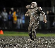Elyria Catholic at North Ridgeville varsity football on October 1, 2011.