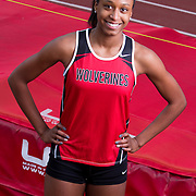 Alexandria Florent is ranked number one high schooler in California and number two in the nation in the high jump.