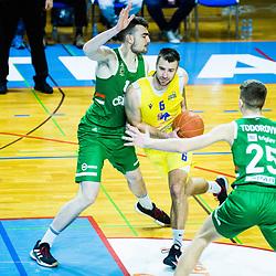 20210318: SLO, Basketball - Liga Nova KBM, KK GGD Sencur vs KK Cedevita Olimpija