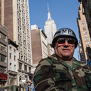 NY421A Veterans parade in New York
