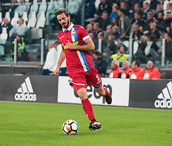 October 25, 2017 - Turin, Piemonte/Torino, Italy - Marios Oikonomou (S.P.A.L. 2013) during theSerie A: Juventus FC vs S.P.A.L. 2013 at Allianz Stadium. Juventus wins 4-1. Turin, Italy 25th october 2017 (Credit Image: © Alberto Gandolfo/Pacific Press via ZUMA Wire)