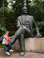 Litwa. Gruto Parkas muzeum komunizmu