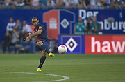 Fussball: International Friendly, 125 years, Hamburger SV - FC Barcelona 1:2, Hamburg, 24.07.2012<br /> Javier Mascherano (Barcelona)<br /> © Torsten Helmke