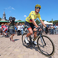 Greg Van Avermaet (BEL - BMC) yellow jersey, is ready for the start during the 105th Tour de France 2018, Stage 9, Arras Citadelle - Roubaix (156,5km) on July 15th, 2018 - Photo George Deswijzen / Proshots / ProSportsImages / DPPI
