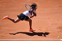 May 16, 2019 - Roma, Italia - Foto Alfredo Falcone - LaPresse.16/05/2019 Roma ( Italia).Sport Tennis.Internazionali BNL d'Italia 2019.Naomi Osaka (jpn) vs Dominika Cibulkova (svk).Nella foto:Naomi Osaka..Photo Alfredo Falcone - LaPresse.16/05/2019 Roma (Italy).Sport Tennis.Internazionali BNL d'Italia 2019.Naomi Osaka (jpn) vs Dominika Cibulkova (svk).In the pic:Naomi Osaka (Credit Image: © Alfredo Falcone - Lapresse.&Quot/Lapresse via ZUMA Press)