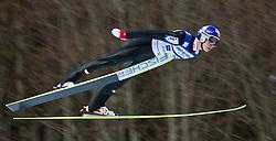 05.02.2011, Heini Klopfer Skiflugschanze, Oberstdorf, GER, FIS World Cup, Ski Jumping, 1. Wertungsdurchgang, im Bild Gregor Schlierenzauer (AUT) , during ski jump at the ski jumping world cup in Oberstdorf, Germany on 05/02/2011, EXPA Pictures © 2011, PhotoCredit: EXPA/ P. Rinderer