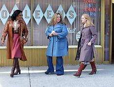 "Melissa McCarthy, Tiffany Haddish, Elisabeth Moss filming ""The Kitchen"" - 13 Jan 2019"
