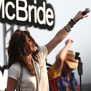 Country music superstar Martina McBride performs.