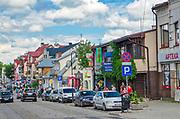 Augustów, ulica Mostowa.