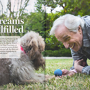 Photographed Henry Winkler for the cover of Costco Connection, the monthly magazine for Costco Wholesale, with a circulation of 13.6 million.