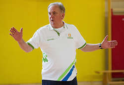 Bozidar Maljkovic, head coach during training camp of Slovenian National basketball team for Eurobasket 2013 on July 19, 2013 in Sports hall Rogatec, Slovenia. (Photo by Vid Ponikvar / Sportida.com)