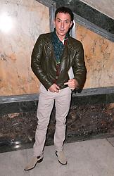 Bruno Tonioli at the Julien Macdonald Autumn/Winter 2017 London Fashion Week show at Goldsmiths' Hall, London. Photo credit should read: Doug Peters/ EMPICS Entertainment